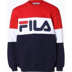 FILA - Męska bluza nierozpinana, czerwony. Czerwone bluzy męskie marki KALENJI, m, z elastanu, z długim rękawem, długie. Za 349,95 zł.
