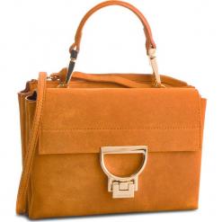 Torebka COCCINELLE - DD6 Arlettis Suede E1 DD6 55 B7 01 Flash Orange R12. Brązowe torebki klasyczne damskie Coccinelle, ze skóry. Za 1149,90 zł.