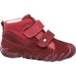 Buciki dziecięce Elefanten czerwone. Czerwone buciki niemowlęce chłopięce Elefanten, z materiału, na rzepy. Za 139,90 zł.