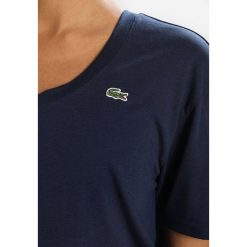 Lacoste Sport TENNIS Tshirt basic navy blue. Niebieskie t-shirty damskie Lacoste Sport, z bawełny. Za 239,00 zł.