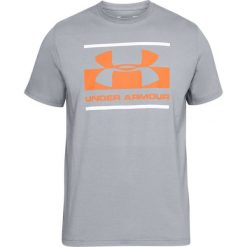 Under Armour Koszulka męska Blocked Sportstle Logo szara r. L (1305667-513). Szare koszulki sportowe męskie Under Armour, l. Za 95,66 zł.