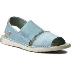 Rzymianki damskie: Sandały SOFTINOS – Taisof P900383007 Pastel Blue