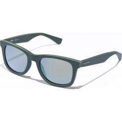 Okulary przeciwsłoneczne męskie: Okulary męskie w kolorze zielonym