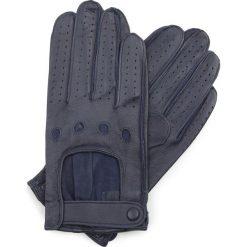 Rękawiczki męskie 46-6L-386-GC. Niebieskie rękawiczki męskie marki Wittchen. Za 99,00 zł.