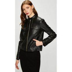Trussardi Jeans - Kurtka. Czarne bomberki damskie Trussardi Jeans, s, z jeansu. W wyprzedaży za 599,90 zł.