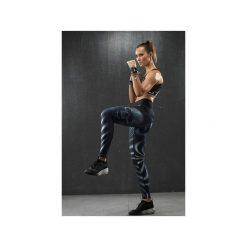 LEGGINSY EXCLUSIVE SKULL. Czarne legginsy damskie do biegania Feelj!, l, z nadrukiem, z dzianiny. Za 250,00 zł.