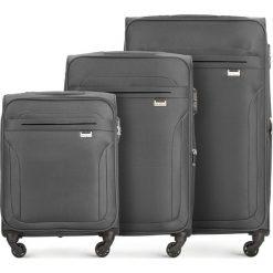 Zestaw walizek V25-3S-26S-00. Szare walizki marki Wittchen, duże. Za 462,21 zł.