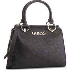 Torebka GUESS - HWSG71 78060 BLA. Czarne torebki klasyczne damskie Guess, z aplikacjami, ze skóry ekologicznej, duże, zdobione. Za 679,00 zł.