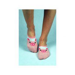 Skarpetki damskie: Skarpetki stopki ze świnką
