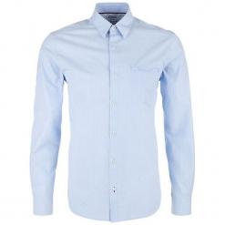 S.Oliver Koszula Męska M Niebieska. Szare koszule męskie marki S.Oliver, l, z bawełny, z włoskim kołnierzykiem, z długim rękawem. Za 139,00 zł.