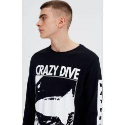 T-shirty męskie z nadrukiem: Koszulka z długim rękawem i z nadrukiem