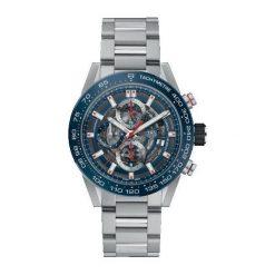 ZEGAREK TAG HEUER CARRERA CAR201T.BA0766. Czarne zegarki męskie marki KALENJI, ze stali. Za 21690,00 zł.
