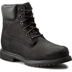 Trapery TIMBERLAND - 6In Premium Boot 8658A/TB08658A0011 Black. Czarne buty zimowe damskie Timberland, z gumy. W wyprzedaży za 569,00 zł.