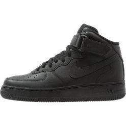 Trampki damskie slip on: Nike Sportswear AIR FORCE 1 '07 MID Tenisówki i Trampki wysokie black