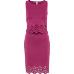 Sukienki: Sukienka z wycięciami bonprix lila