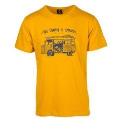 Rip Curl T-Shirt Męski Wagon Xxl Żółty. Żółte t-shirty męskie marki Rip Curl, m, z bawełny. Za 117,00 zł.