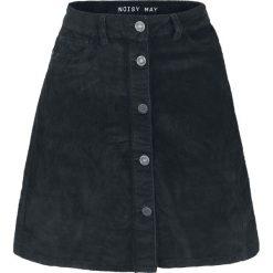 Noisy May Sunny Short Corduroy Skater Skirt Spódnica czarny. Czarne minispódniczki Noisy May, l. Za 99,90 zł.