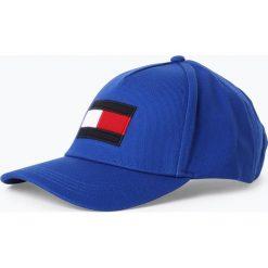 Tommy Hilfiger - Męska czapka z daszkiem, niebieski. Niebieskie czapki z daszkiem męskie TOMMY HILFIGER. Za 179,95 zł.