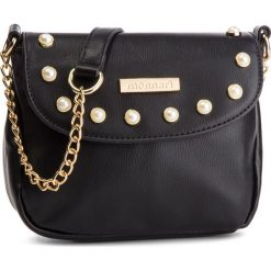 Torebka MONNARI - BAG7740-020 Black. Brązowe torebki klasyczne damskie marki Monnari, w paski, z materiału, średnie. W wyprzedaży za 159,00 zł.