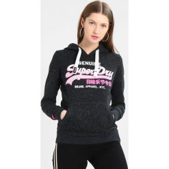 Bluzy rozpinane damskie: Superdry VINTGE LOGO GENUINE ENTRY HOOD Bluza z kapturem eclipse navy