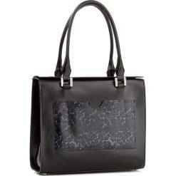 Torebka GINO ROSSI - Verso XD3476-ELB-BGBT-9957-TA Czarny. Czarne torebki klasyczne damskie Gino Rossi. W wyprzedaży za 399,00 zł.