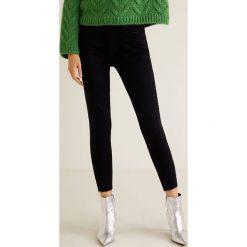 Mango - Jeansy Isa. Szare jeansy damskie rurki marki G-Star RAW, z obniżonym stanem. Za 139,90 zł.