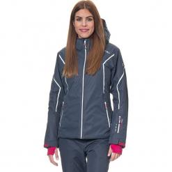 Kurtka narciarska w kolorze granatowym. Niebieskie kurtki damskie marki CMP Women, m, z materiału. W wyprzedaży za 432,95 zł.