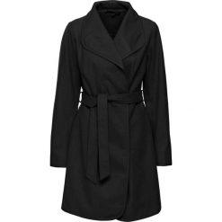 Płaszcze damskie: Płaszcz z paskiem bonprix czarny