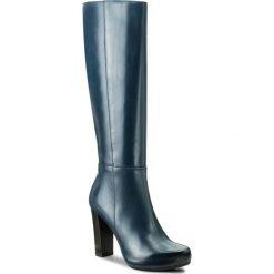 Kozaki GINO ROSSI - Serena DKH138-S82-0B00-5700-F 59. Czarne buty zimowe damskie marki Gino Rossi, z materiału, na obcasie. W wyprzedaży za 379,00 zł.