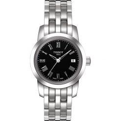 RABAT ZEGAREK TISSOT T-CLASSIC T033.210.11.053.00. Czarne zegarki męskie TISSOT, ze stali. W wyprzedaży za 739,20 zł.