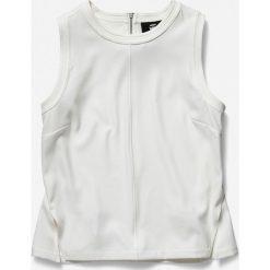 Levi's - Koszula. Szare topy damskie marki G-Star RAW, l, w paski, z bawełny, casualowe, z klasycznym kołnierzykiem, z krótkim rękawem. W wyprzedaży za 259,90 zł.