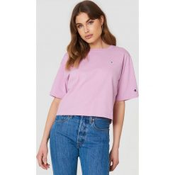 T-shirty damskie: Champion T-shirt Oversize – Pink,Purple
