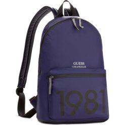 Plecak GUESS - Tech Backpack HM6115 NYL73 BLT. Niebieskie plecaki męskie marki Guess, z aplikacjami. W wyprzedaży za 269,00 zł.