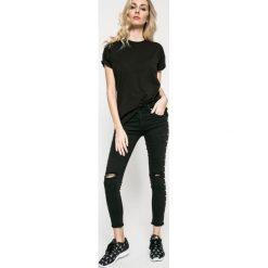Answear - Jeansy. Czarne jeansy damskie marki ANSWEAR. W wyprzedaży za 99,90 zł.
