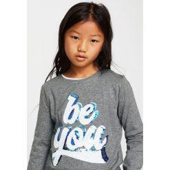 Bluzki dziewczęce bawełniane: Mango Kids - Bluzka dziecięca Yes 110-164 cm
