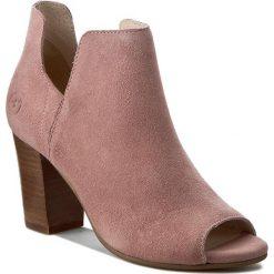 Botki BRONX - 33926-H-1697 Dusty Pink 1697. Czarne buty zimowe damskie marki Bronx, z materiału. W wyprzedaży za 219,00 zł.