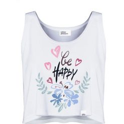 Colour Pleasure Koszulka damska CP-035 235 biała r. M-L. Białe bluzki damskie marki Colour pleasure, l. Za 64,14 zł.