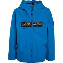 Napapijri RAINFOREST  Kurtka Outdoor tourquoise. Niebieskie kurtki chłopięce marki Napapijri, z bawełny. Za 589,00 zł.