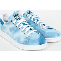 Adidas Originals - Buty Pharrell Williams Hu Holi Stan Smith. Szare halówki męskie adidas Originals, z gumy, na sznurówki. W wyprzedaży za 299,90 zł.