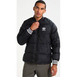 Adidas Originals Kurtka Bomber black. Szare bomberki damskie marki adidas Originals, na co dzień, z nadrukiem, z bawełny, casualowe, z okrągłym kołnierzem, proste. W wyprzedaży za 519,20 zł.