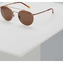 Polo Ralph Lauren Okulary przeciwsłoneczne brown. Brązowe okulary przeciwsłoneczne męskie aviatory Polo Ralph Lauren. Za 649,00 zł.