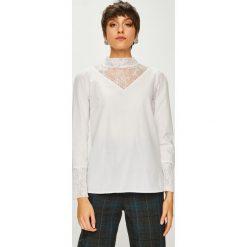 Trendyol - Bluzka. Szare bluzki z odkrytymi ramionami Trendyol, l, z bawełny, casualowe, ze stójką. W wyprzedaży za 59,90 zł.