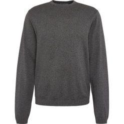 Finshley & Harding - Sweter męski – Pima-Cotton/Kaszmir, szary. Czarne swetry klasyczne męskie marki Finshley & Harding, w kratkę. Za 229,95 zł.