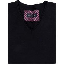 Sweter EMILIANO SWCR000165. Brązowe swetry klasyczne męskie Giacomo Conti, m, z wełny. Za 149,00 zł.