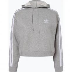 Adidas Originals - Damska bluza nierozpinana, szary. Szare bluzy z kapturem damskie marki adidas Originals, na co dzień, z nadrukiem, z bawełny, casualowe, z okrągłym kołnierzem, proste. Za 299,95 zł.