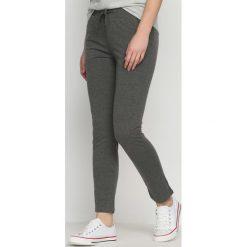 Spodnie dresowe damskie: Ciemnoszare Spodnie Dresowe Keep Fit