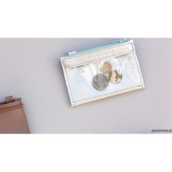 MIKRO +|- / Silver - portfel ze skóry. Szare portfele męskie Pakamera, ze skóry. Za 110,00 zł.
