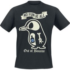 T-shirty męskie: No Fun At All Out Of Bounds T-Shirt czarny