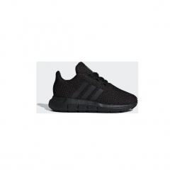 Buty Dziecko adidas  Buty Swift Run. Czarne trampki chłopięce Adidas. Za 199,00 zł.