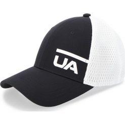 Czapka z daszkiem UNDER ARMOUR - Ua Train Spacer Mesh Cap 1305446-001 Biały Czarny. Białe czapki z daszkiem damskie Under Armour, z materiału. Za 99,95 zł.